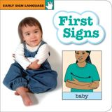 Early Sign Language Board Book, First Signs