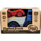 Green Toys Flatbed & Race Car