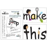 SnapWords® Teaching Cards, List A
