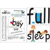 SnapWords® Teaching Cards, List D