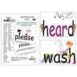SnapWords® Teaching Cards, List E