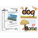 SnapWords® Teaching Cards, List F