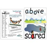 SnapWords® Teaching Cards, List G