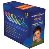 WhisperPhone® VarietyPak of 12, 2 each of 6 colors