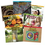 Math Around Us Book Set, Set of all 7