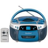 Programmable MP3, CD Player with USB, Cassette Player/Recorder and AM/FM Radio