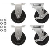 PowerStacker™ Set of 4 casters, two locking