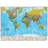 World Map International 500-Piece Jigsaw Puzzle