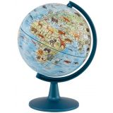 Stellanova 6 Animal Globe with Animal Encyclopedia