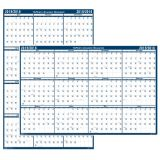 Laminated Academic Year Planner, 24 x 18