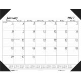 Academic Economy Desk Pad, 12 months, Jan.-Dec.