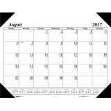 Academic Economy Desk Pad, 17 months, Aug.-Dec.