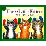 Carry Along Book & CD, Three Little Kittens