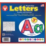 3 Punch-Out Letters, Assorted Fish