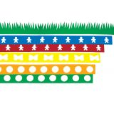 Green Grass Die Cut Border
