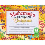 Mathematics Achievement Certificate