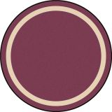 Portrait™ Rug, 5'4 Round, Heather