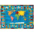 Hands Around the World™ Rug, 7'8 x 10'9 Rectangle