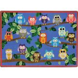 It's A Hoot™ Rug, 10'9 x 13'2 Rectangle