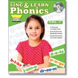 Sing & Learn Phonics Book & Audio CD, Vol. 2