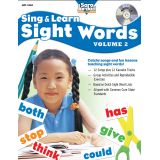 Sing & Learn Sight Words Book & Audio CD, Vol. 2