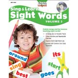 Sing & Learn Sight Words Book & Audio CD, Vol. 3