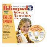 Bilingual Songs & Activities Book with CD, Vol. 1