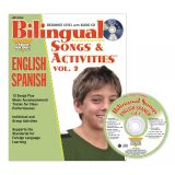 Bilingual Songs & Activities Book with CD, Vol. 2