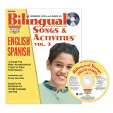 Bilingual Songs & Activities Book with CD, Vol. 3