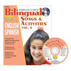 Bilingual Songs & Activities Book with CD, Vol. 4