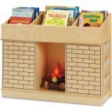 Storybook Fireplace