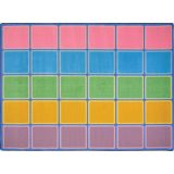 Blocks Abound™ Rug, 5'4 x 7'8 Rectangle, Pastel