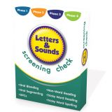 Letters & Sounds Screening Check