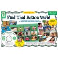 Listening Lotto: Find That Action Verb! Game