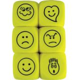 Foam Expressions Dice, Tub of 36
