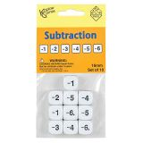 Subtraction Dice