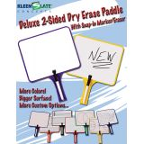 KleenSlate® Dry Erase Paddles, Rectangular, Set of 2