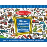 Melissa & Doug Sticker Collection - Blue