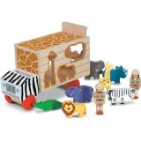 Animal Rescue Shape-Sorting Truck