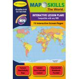 Map Skills IWB Software, The World