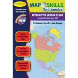 Map Skills IWB Software, North America