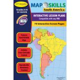 Map Skills IWB Software, South America
