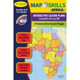 Map Skills IWB Software, Africa