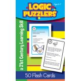 Logic Puzzlers Flash Cards, Grade 1
