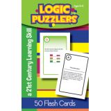 Logic Puzzlers Flash Cards, Grade 3