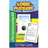 Logic Puzzlers Flash Cards, Grade 5