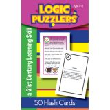 Logic Puzzlers Flash Cards, Grade 6
