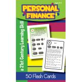 Personal Finance Flash Cards, Grade 6