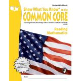 Show What You Know® on the Common Core Student Workbook: Reading & Mathematics, Grade 3