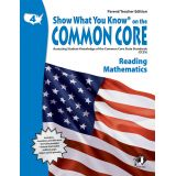 Show What You Know® on the Common Core Parent/Teacher Edition: Reading & Mathematics, Grade 4